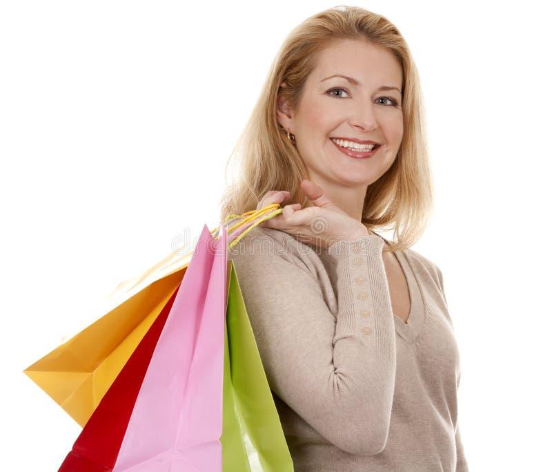 Download Woman shopping stock photo. Image of beautiful, buyer - 27243678