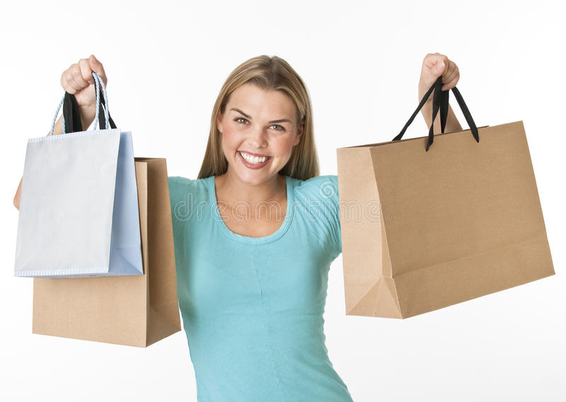 Download Woman with Shopping Bags stock photo. Image of shopping - 10531860