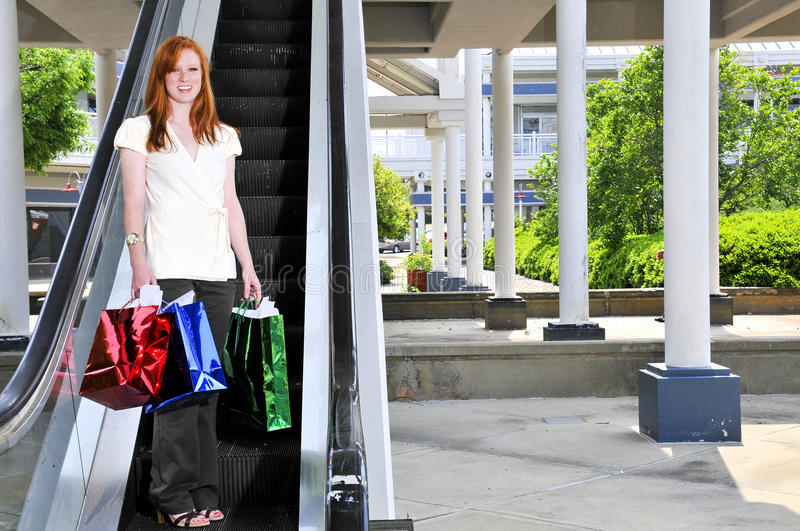 Download Woman Shopping Bags stock photo. Image of cute, beauty - 14334694