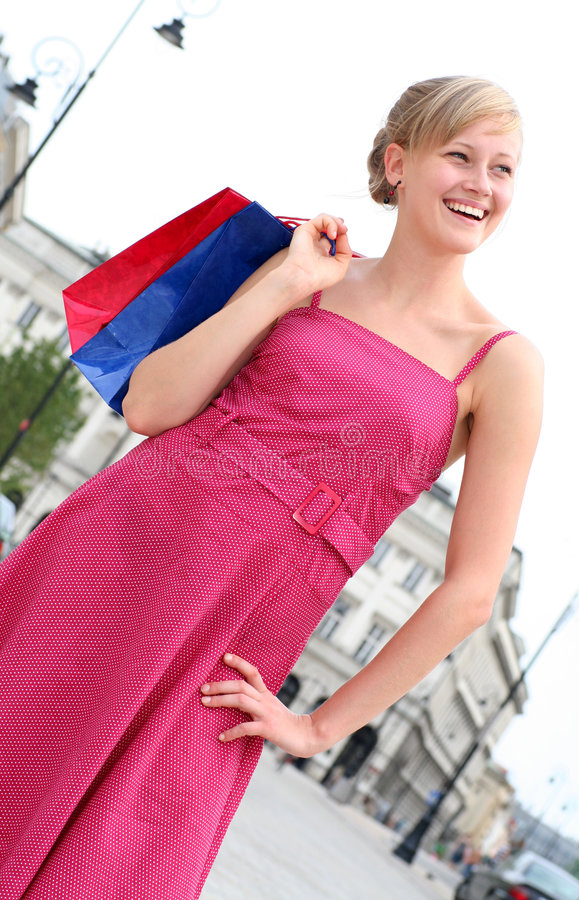 Download Woman With Shopping Bags Royalty Free Stock Photo - Image: 2944555