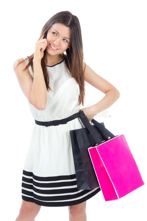 Download Woman With Shopping Bags Buying Presents Stock Photo - Image: 24375188