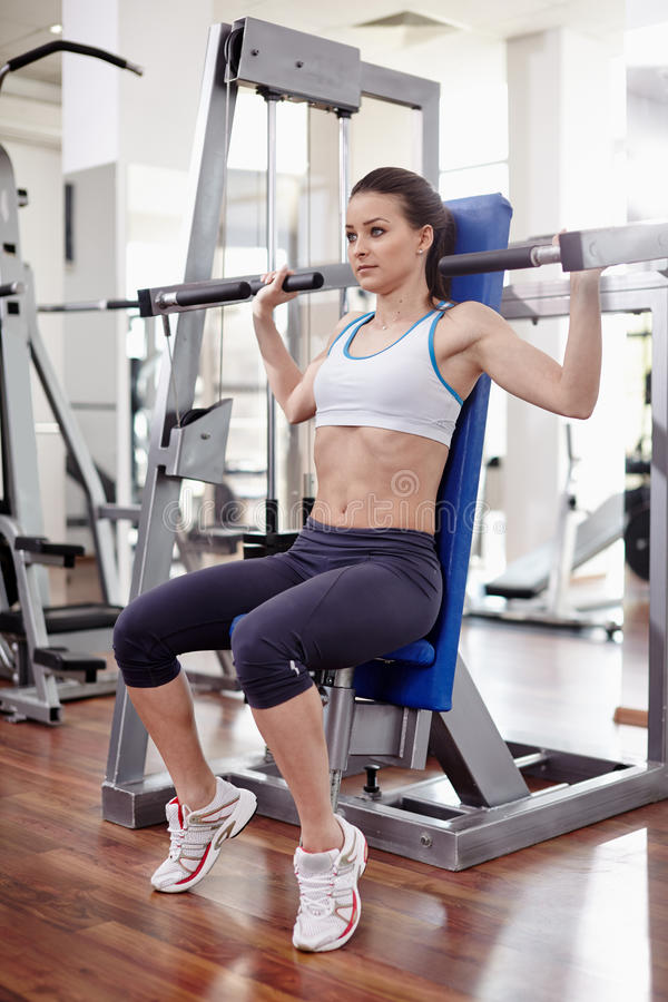 Image result for woman Machine Shoulder Press