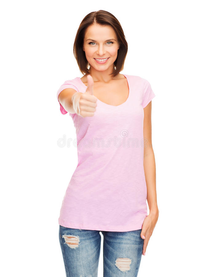 Download Woman Showing Thumbs Up Royalty Free Stock Photography - Image: 34106767