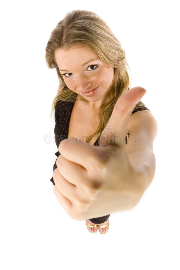 Download Woman shows OK stock image. Image of agree, assent, businesswoman - 1769129