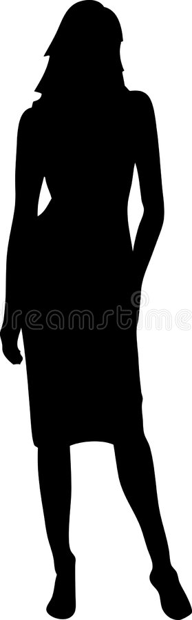 Download Woman Silhouette Stock Photo - Image: 1172650