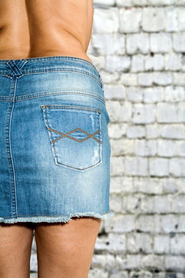 topless women in jeans
