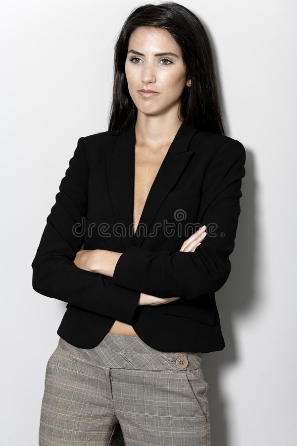Download Woman In Smart Business Suit Stock Images - Image: 27027514