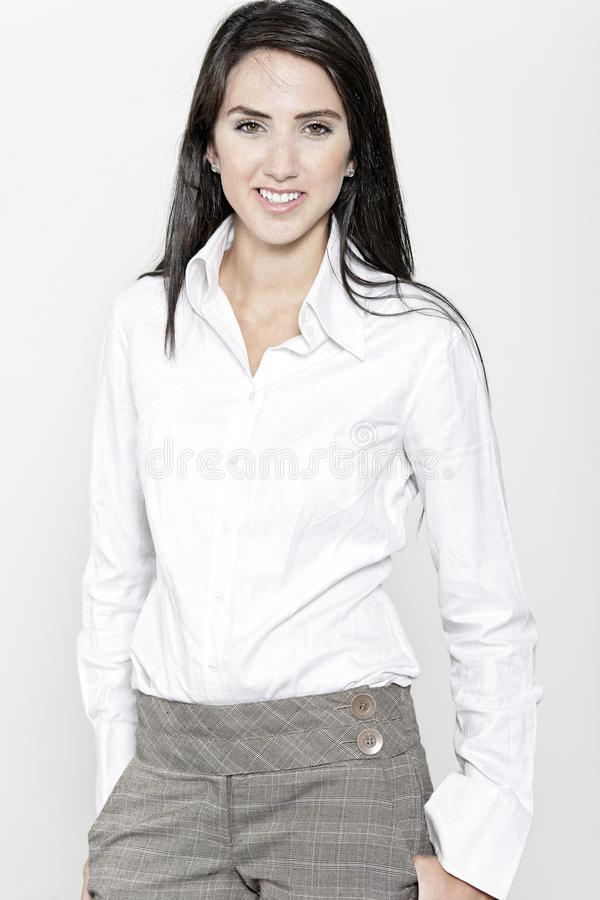 Download Woman In Smart Business Suit Stock Photos - Image: 27027603