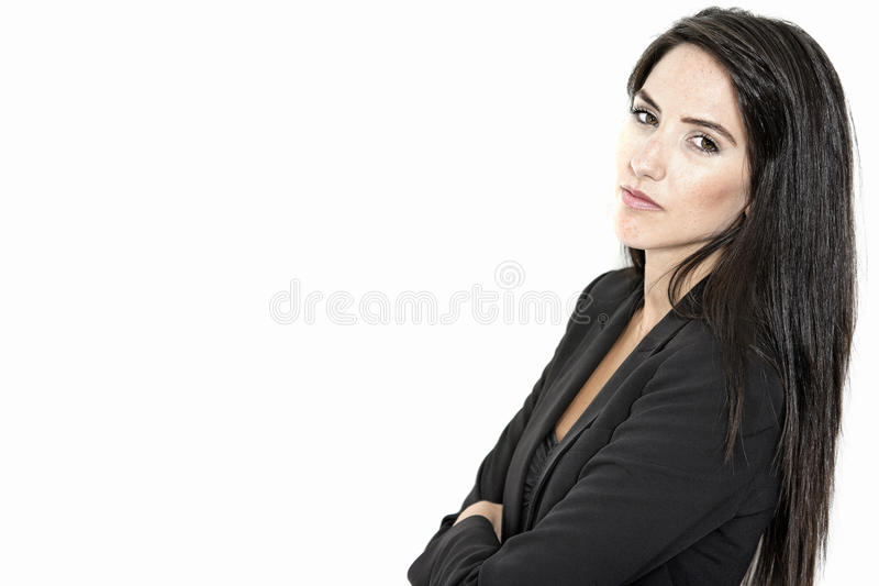 Download Woman In Smart Business Suit Stock Photo - Image: 27027638