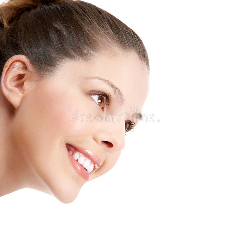 Download Woman smile stock photo. Image of cosmetic, make, woman - 5177824
