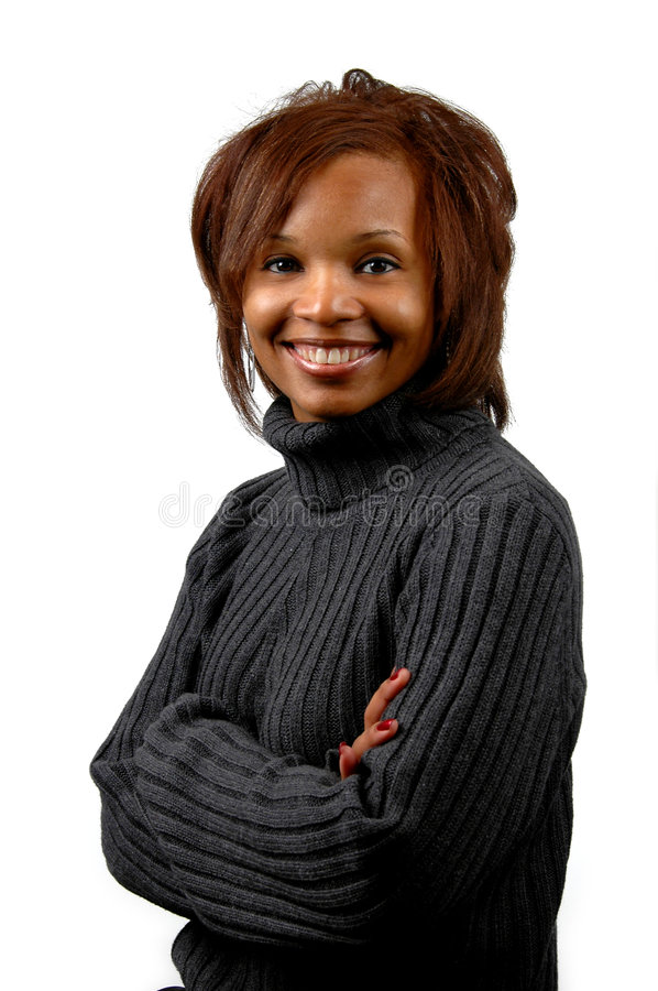Woman Smiling stock images