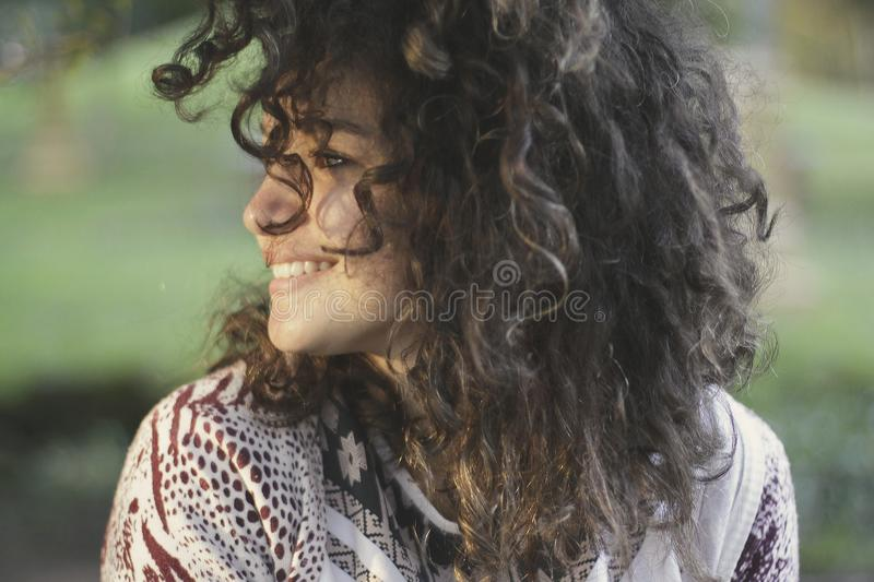 Woman Smiling In Outdoor Portrait Free Public Domain Cc0 Image