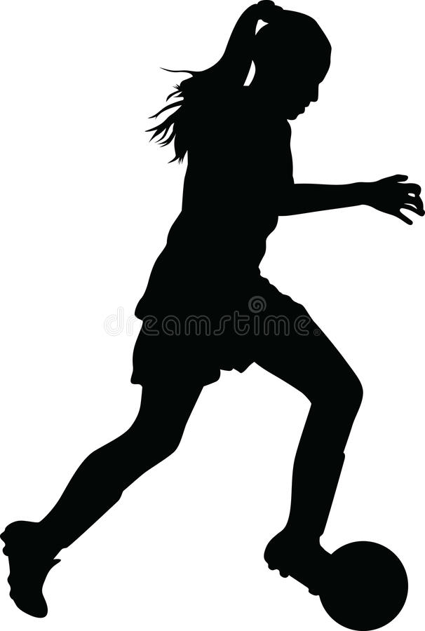 Free Woman Soccer Player Royalty Free Stock Photos - 73314198
