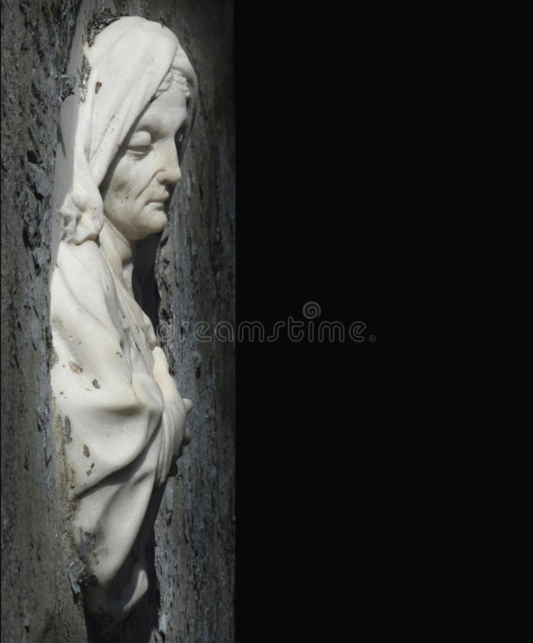 Woman In Sorrow As A Symbol Of Death Stock Photo Image Of
