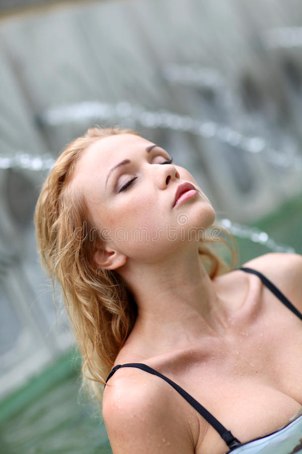 Download Woman in spa stock image. Image of attractive, beautiful - 22222049