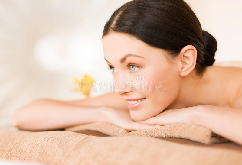 Download Woman in spa stock image. Image of care, pampering, bliss - 38098053