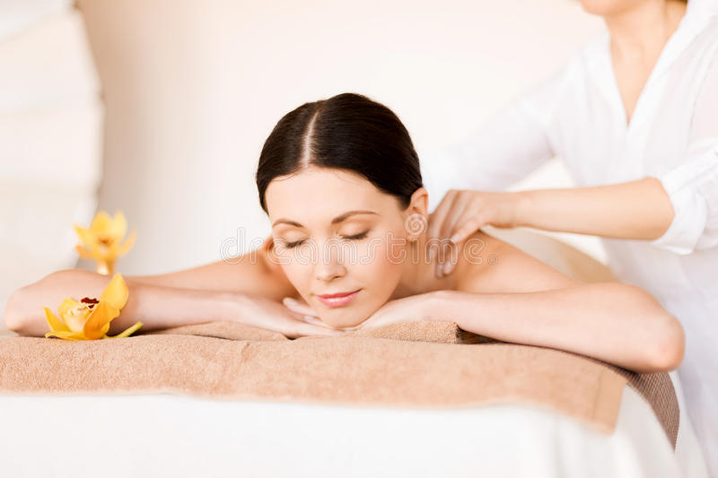 Download Woman in spa stock image. Image of girl, procedure, aromatherapy - 38098083
