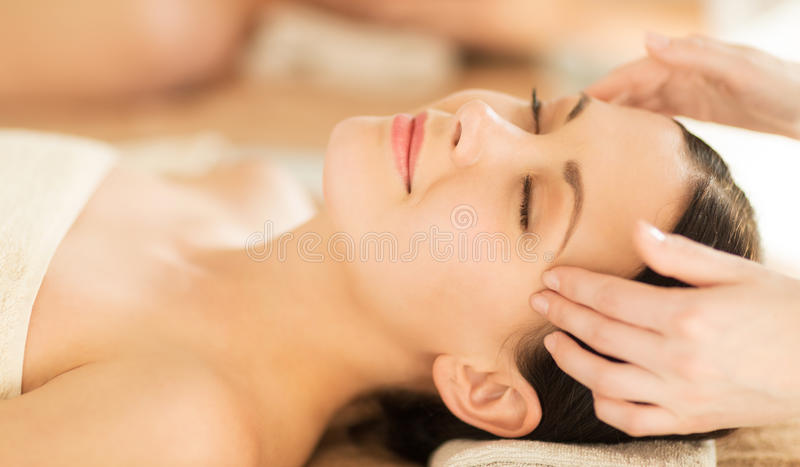 Download Woman in spa stock image. Image of female, masseur, lying - 38098089