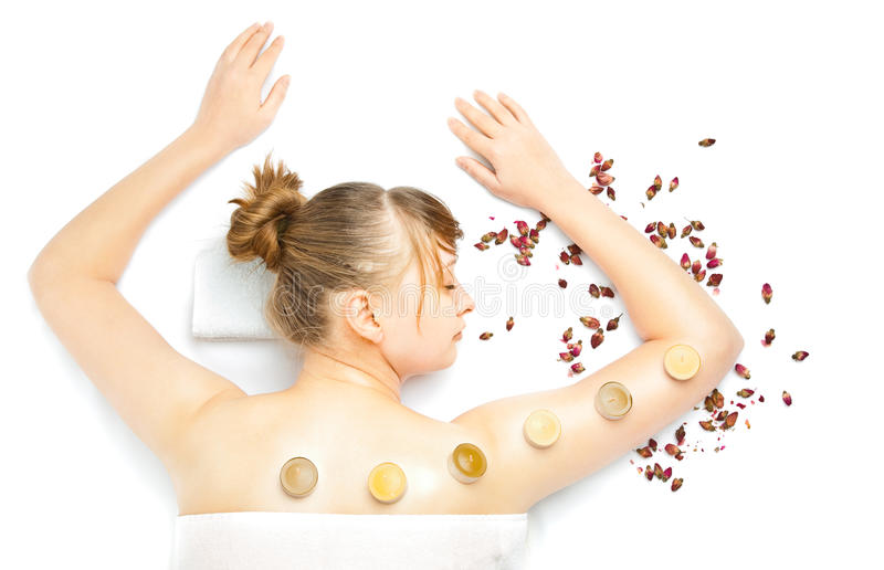 Download Woman at spa procedures stock image. Image of clean, beautiful - 14089333