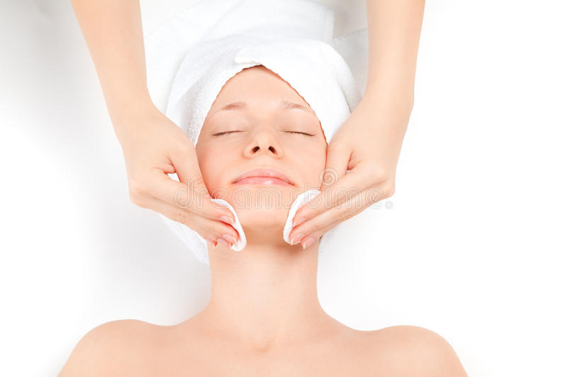 Download Woman at spa procedures stock photo. Image of adult, hand - 18950874