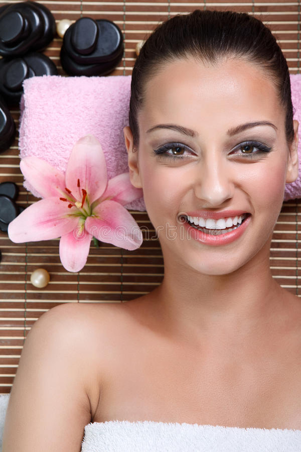 Download Woman in spa salon stock image. Image of attractive, facial - 30946679