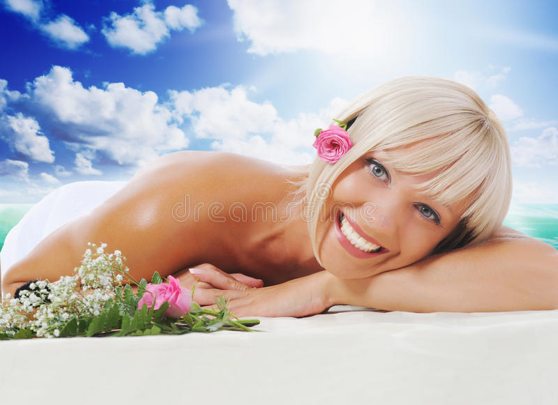 Download Woman In A Spa Salon Stock Photos - Image: 31497883