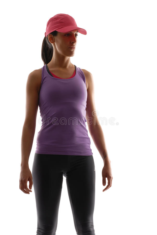 Download Woman sport. stock image. Image of full, muscular, determination - 31047745