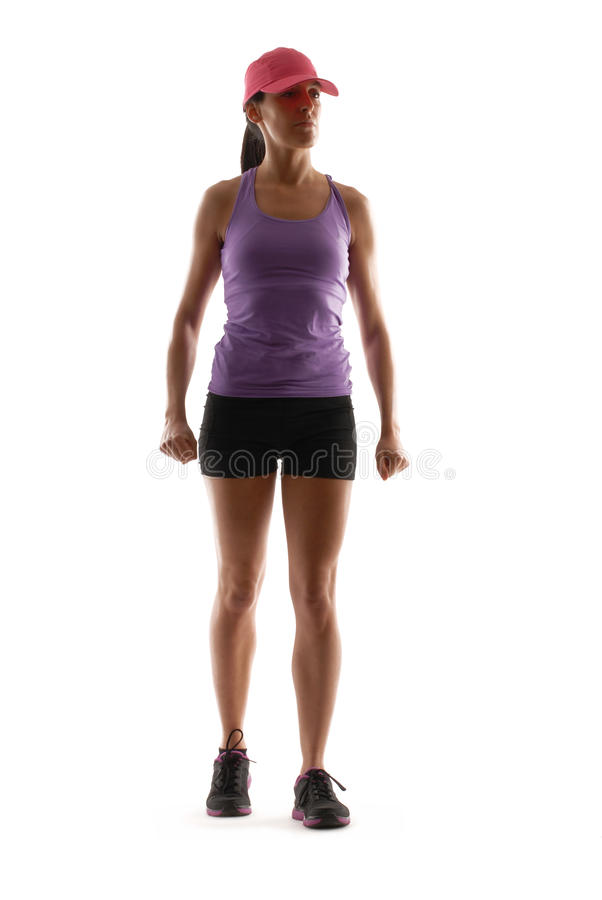 Download Woman sport. stock image. Image of aerobic, background - 31047793