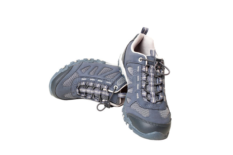 Woman sport shoes stock image