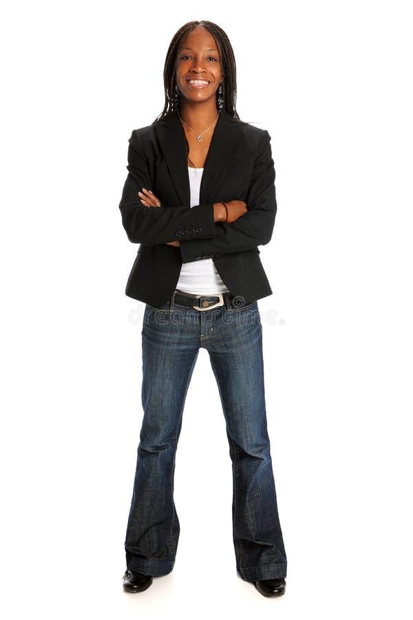 Woman Standing stock image