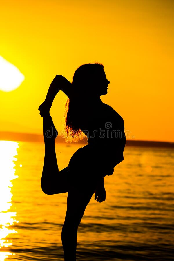 Woman Standing On Beach During Sunset Free Public Domain Cc0 Image