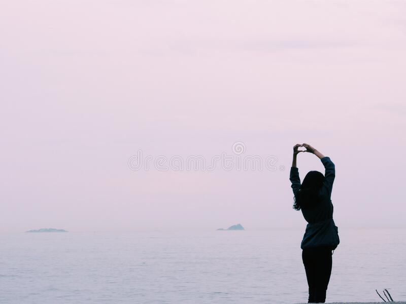 Woman Standing Near Body Of Water Free Public Domain Cc0 Image