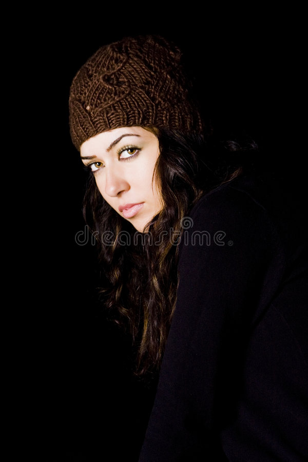 Download Woman staring atcamera stock image. Image of winter, seasonal - 6266835