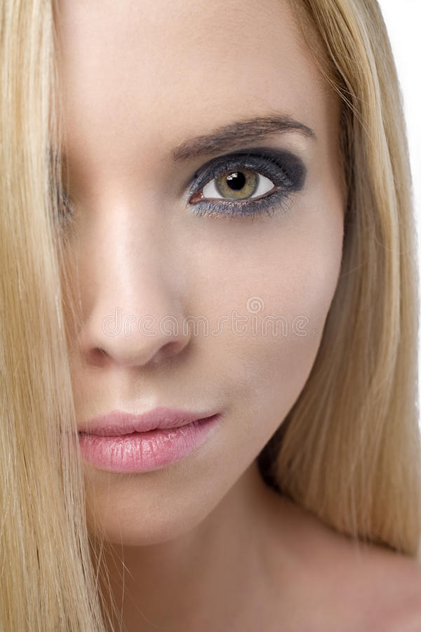 Download Woman with straight hair stock image. Image of feamle - 10082177