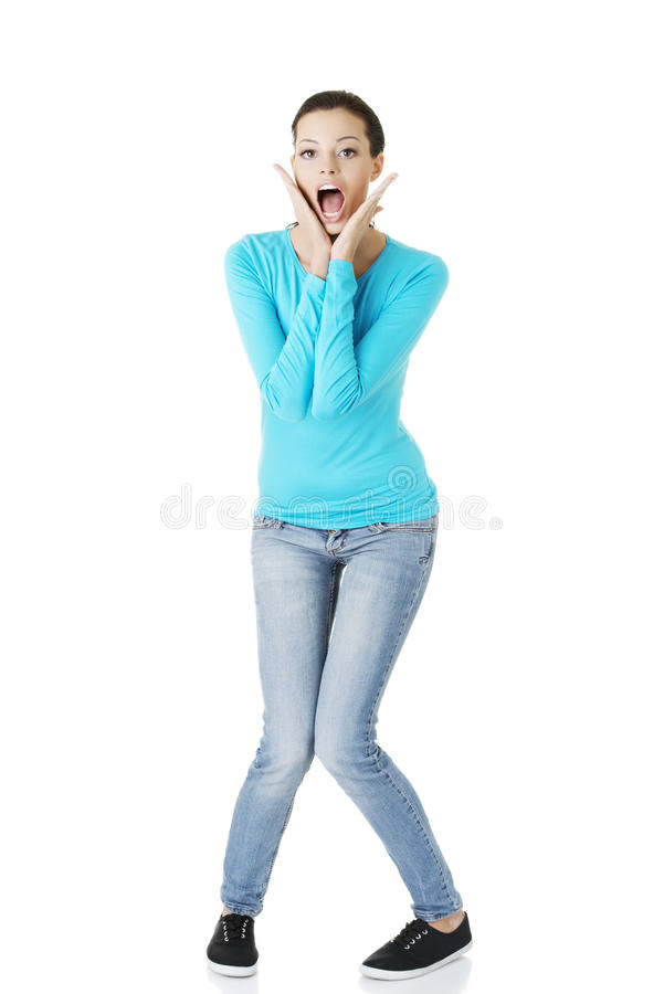 Download Woman Stressed Is Going Crazy Stock Photo - Image: 27898518