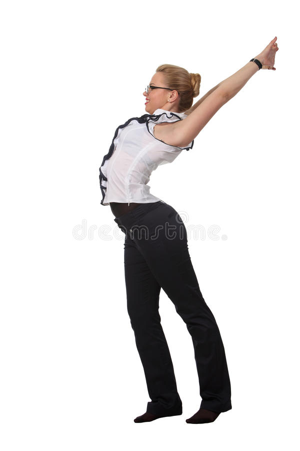 Free Woman Stretch Stock Photography - 19422292