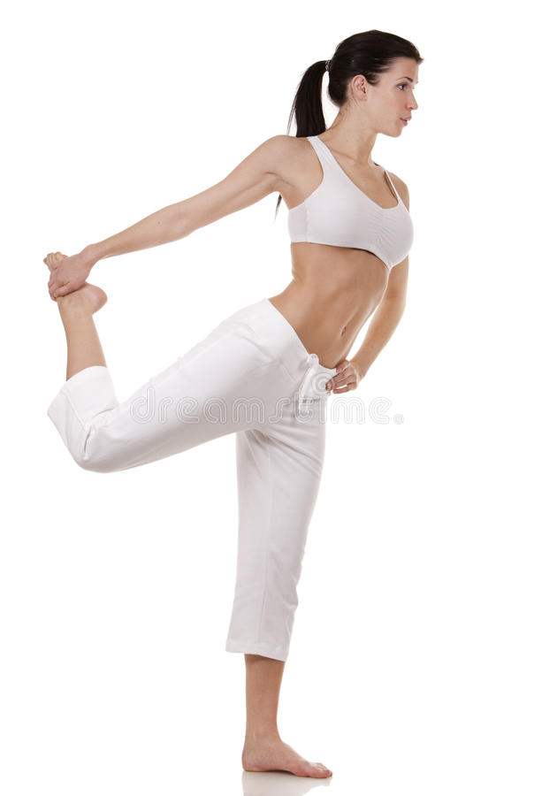 Download Woman stretching stock photo. Image of female, adult - 29247168
