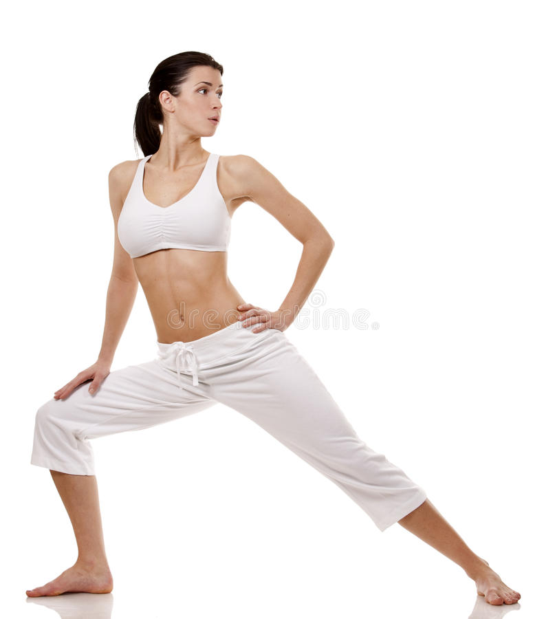 Download Woman stretching stock photo. Image of pose, caucasian - 29247186