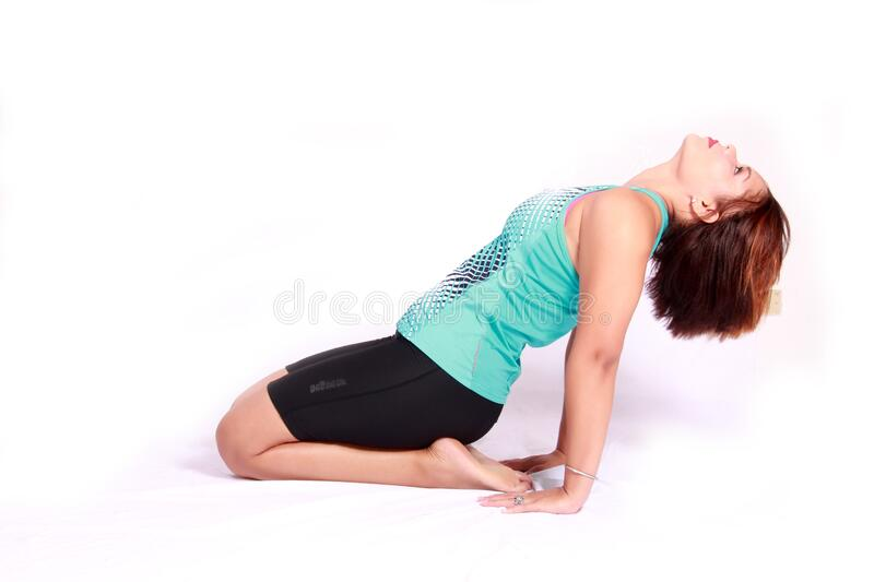 Woman Stretching Her Quads Free Public Domain Cc0 Image