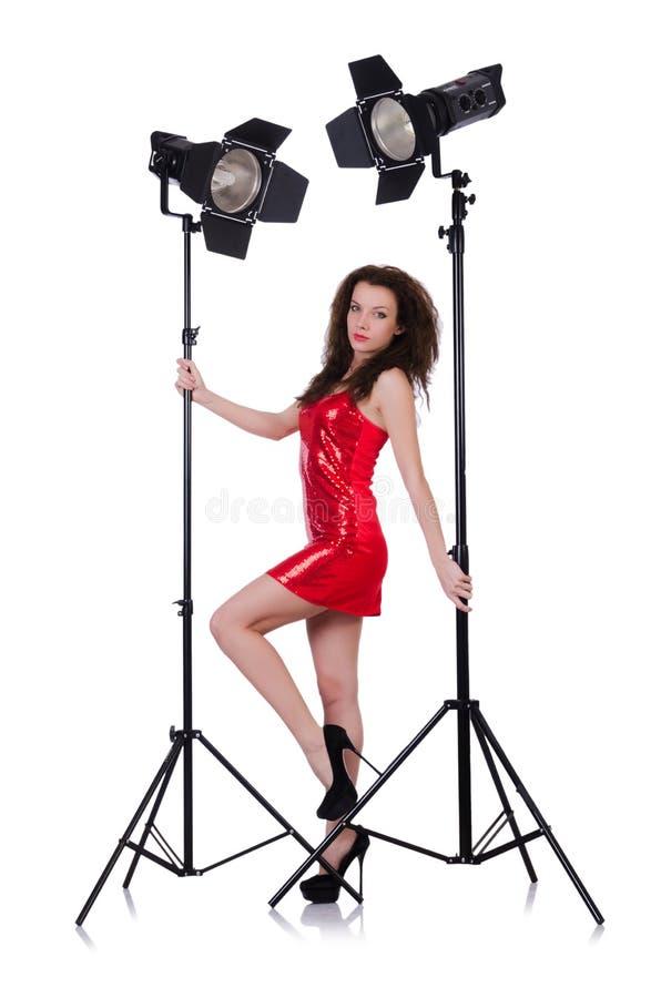 Download Woman In Studio Stock Photo - Image: 34283250