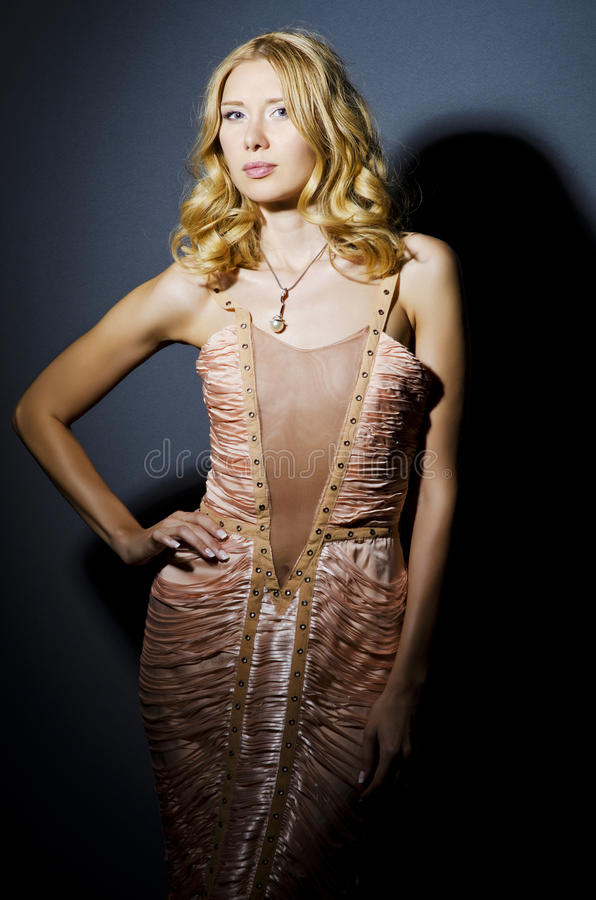 Download Woman in  studio shooting stock photo. Image of model - 25871534