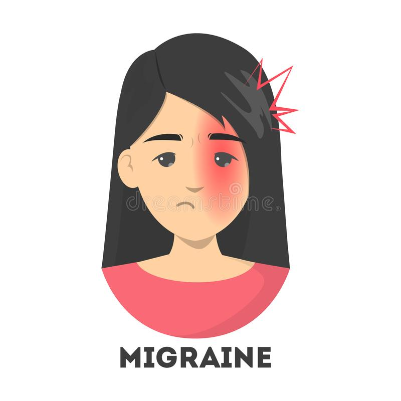 Migraine Cartoon Stock Illustrations 1 320 Migraine Cartoon Stock Illustrations Vectors Clipart Dreamstime