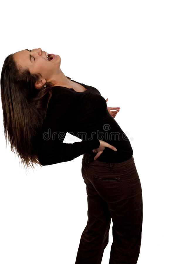Download Woman Suffering From Back Pain Stock Photos - Image: 10886873