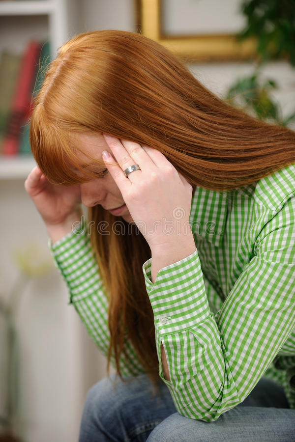 Download Woman Suffering From Depression Stock Photo - Image: 23830716