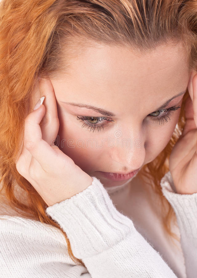 Download Woman Suffering From Headache Stock Photo - Image: 28141730