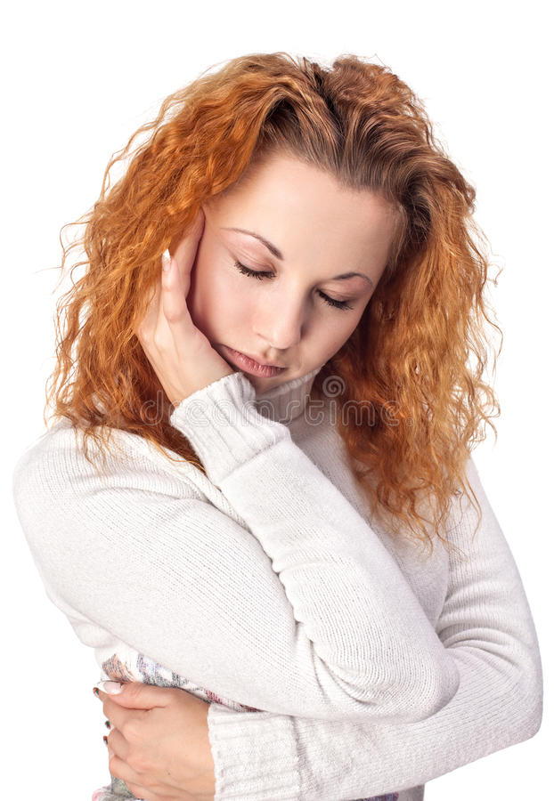 Download Woman Suffering From Headache Stock Image - Image: 28141739