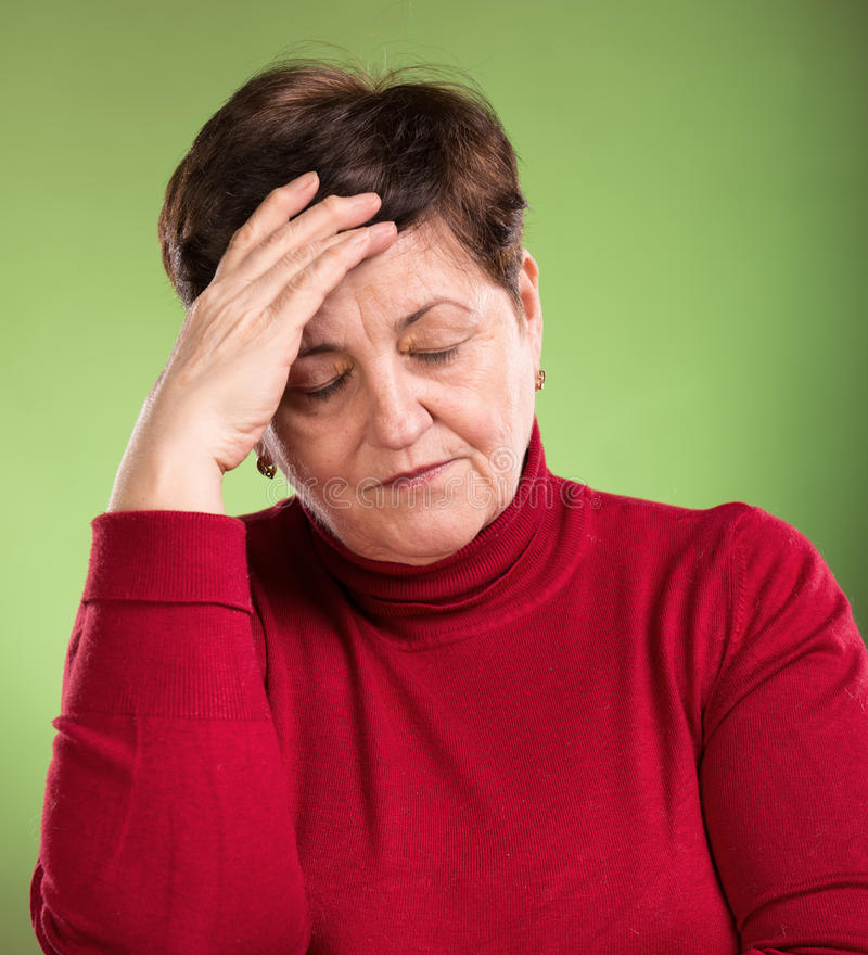 Download Woman Suffering From Headache Stock Image - Image: 38732973