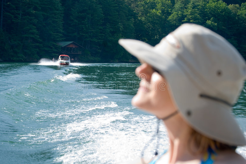 Download Woman in Summer/Daydreams stock photo. Image of boating - 5728032