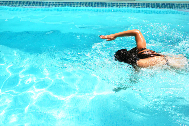 Download Woman In Swimming Pool Royalty Free Stock Photo - Image: 20439275