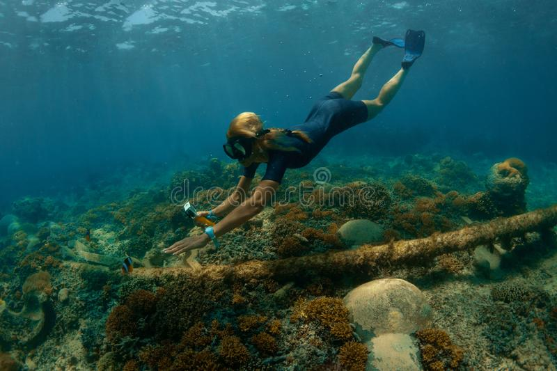 Summer vacation tourist stock images